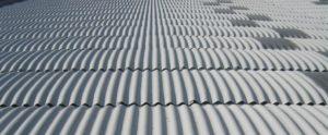 vista di coperture smaltimento amianto