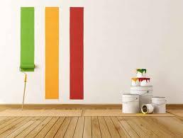strisce colore su parete smaltimento amianto