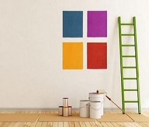 colori su parete smaltimento amianto