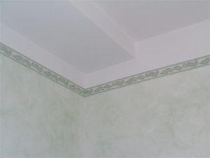 soffitto dipinto smaltimento amianto