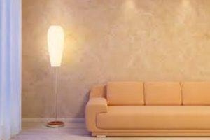 foto stanza lampada divano smaltimento amianto