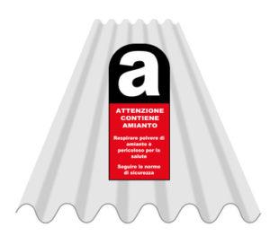 avviso smaltimento amianto