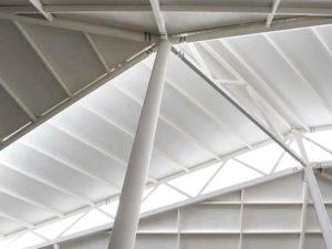 soffitto centro commerciale smaltimento amianto