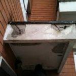 ripristino balconi smaltimento amianto