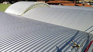 tetti capannoni curvi smaltimento amianto