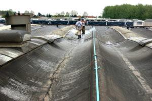 impermeabilizzazione guaina smaltimento amianto