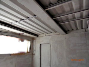 soffitto smaltimento amianto