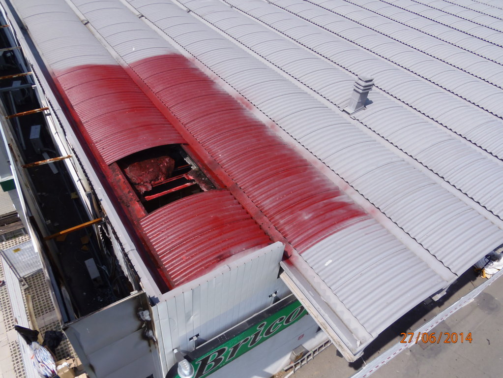 capannone smaltimento amianto