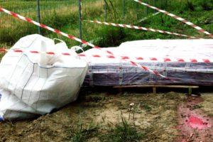 impacchettamento smaltimento amianto