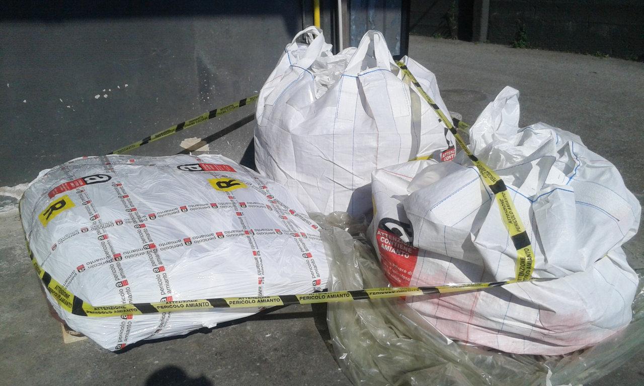 smaltimento amianto big bag