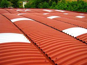 tetti rossi e bianchi smaltimento amianto