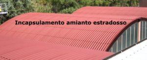 tetto incapsulamento amianto