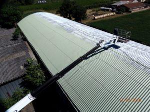 paesaggio capannone incapsulamento amianto
