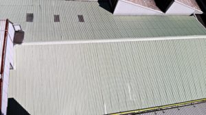 tetti capannoni con aperture smaltimento amianto