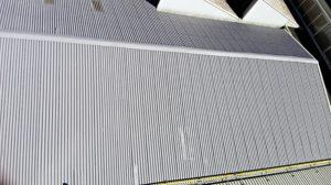 tetto capannone vista dall'alto smaltimento amianto