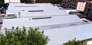 tetti palazzi e alberi smaltimento amianto