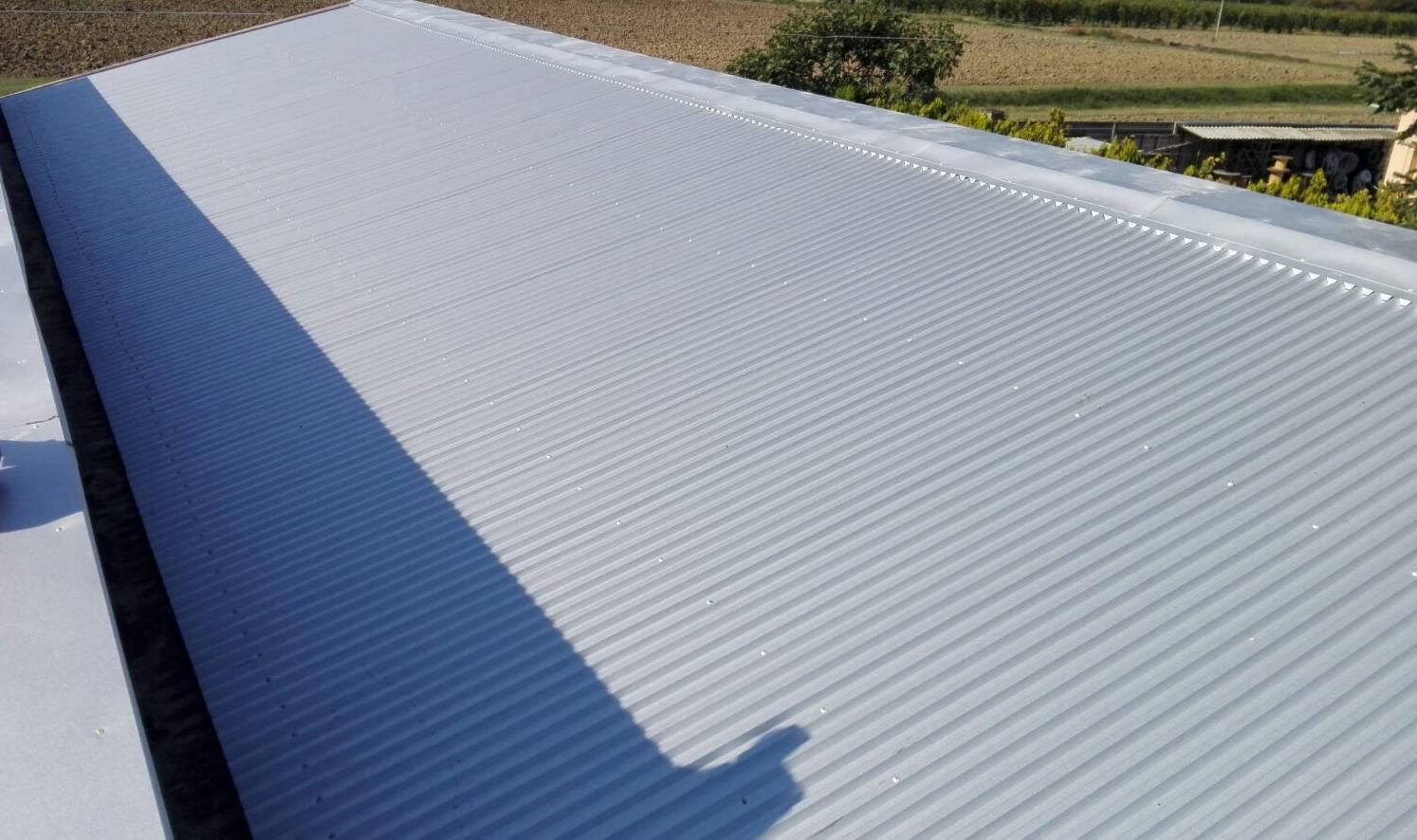 smaltimento amianto tinta tetto