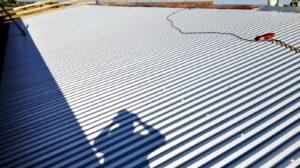 ombra su tetto smaltimento amianto