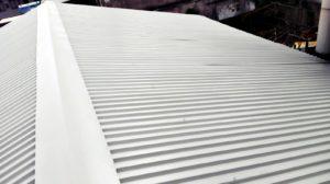 lato di tetto capannone smaltimento amianto