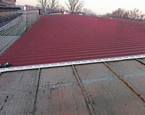 tetto rosso smaltimento amianto