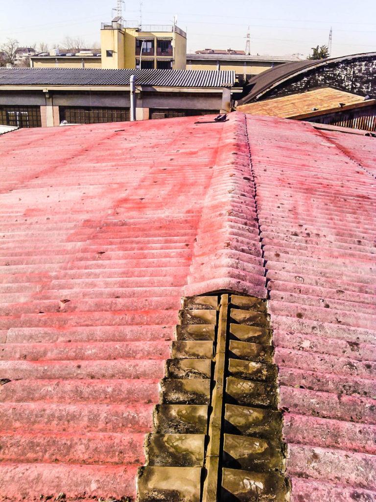rimozione tetto smaltimento amianto
