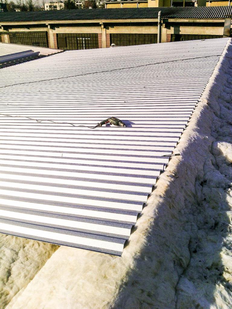 ricopertura tetto smaltimento amianto
