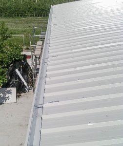 smaltimento amianto vista tetto