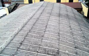 tetto grigio smaltimento amianto prima