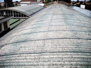 incapsulamento amianto tetto grigio prima