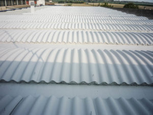 smaltimento amianto tetti vari