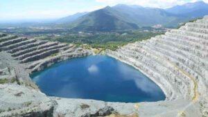 smaltimento eternit - cava di balangero - il lago
