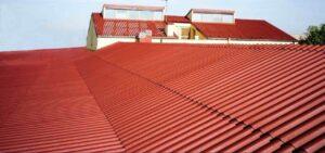 tetto con incapsulamento amianto